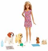 Набор с куклой Barbie Doggy Daycare, FXH08