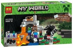 Конструктор BELA My World 10174 Пещера