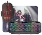 Клавиатура и мышь Defender Anger MKP-019 RU Black USB