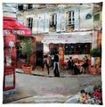 Чехол для подушки Gift'n'Home Свидание в Париже 40х40 см (НВЛ-40 Свидание(g))