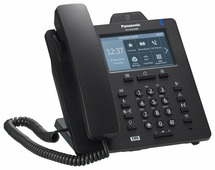 VoIP-телефон Panasonic KX-HDV430 черный