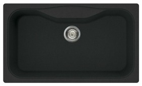 Врезная кухонная мойка smeg LSEG860-2 86х50см искусственный гранит