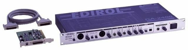 Внутренняя звуковая карта с дополнительным блоком Edirol DA-2496