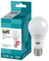 Лампа светодиодная IEK ECO 4000K, E27, A60, 15Вт