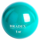 Медбол BRADEX SF 0256, 1 кг