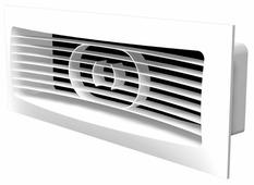Вентиляционная решетка ERA 612РСФ 150 x 90 мм