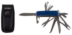 Нож многофункциональный ЗУБР Эксперт (47786) (16 функций) с чехлом