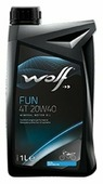 Моторное масло Wolf Fun 4T 20W40 1 л