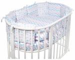 SWEET BABY комплект в овальную кроватку Colori (5 предметов)