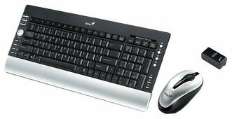 Клавиатура и мышь Genius LuxeMate 720 Laser Black USB