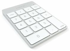 Клавиатура Satechi Aluminum Slim Rechargeable Keypad Silver Bluetooth