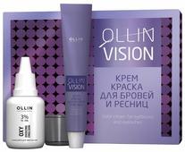 OLLIN Professional Крем-краска для бровей и ресниц VISION SET
