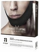 Avajar Мужская лифтинговая маска Perfect V Lifting Premium Black Mask 5 шт