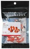 Конструктор Nanoblock Miniature NBC-002 Рыба-Клоун