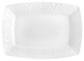 Коралл Блюдо прямоугольное Роза 28 см