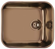 Врезная кухонная мойка smeg UM45RA2 47.8х42.7см нержавеющая сталь