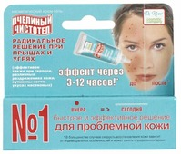 Dr. Kirov Пчелиный чистотел Крем-гель от угрей