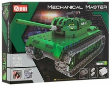 Электромеханический конструктор QiHui Mechanical Master 8011 Танк