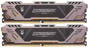 Оперативная память 8 ГБ 2 шт. Ballistix BLS2K8G4D32AESTK