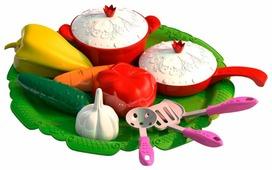 Набор продуктов с посудой Нордпласт Волшебная хозяюшка 624