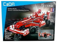 Электромеханический конструктор Double Eagle CaDA Technic C51010W Гонщик