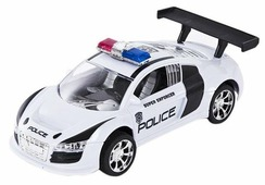 Легковой автомобиль Пламенный мотор Полиция (87643) 18 см