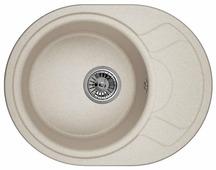 Врезная кухонная мойка Granula 5802 58х45см искусственный гранит