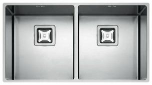 Врезная кухонная мойка FULGOR MILANO P2B 8343 Q U