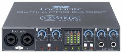 Внешняя звуковая карта Focusrite Saffire PRO 24 DSP