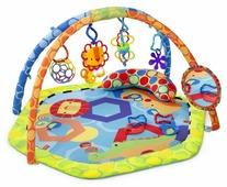 Развивающий коврик Oball Разноцветный мир (81525)