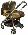 Прогулочная коляска BabyLux Carita 205S (4 колеса)