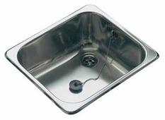 Врезная кухонная мойка Reginox R18 3530 39.6х34.4см нержавеющая сталь