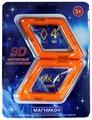Магнитный конструктор Магникон Набор элементов МК-4-РБ Ромб
