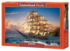 Пазл Castorland Sailing At Sunset (C-151431), 1500 дет.