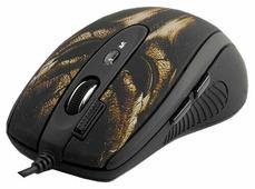 Мышь A4Tech XL-750BH Black-Brown USB