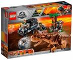 Конструктор LEGO Jurassic World 75929 Побег в гиросфере от Карнотавра