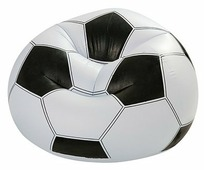 Надувное кресло Bestway Beanless Soccer Ball Chair