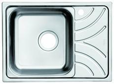 Врезная кухонная мойка IDDIS Arro ARR60SLi77 60.5х44см нержавеющая сталь