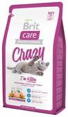 Корм для котят Brit Care Crazy с курицей