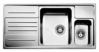 Врезная кухонная мойка TEKA Stage 60B-CN 100х50см нержавеющая сталь