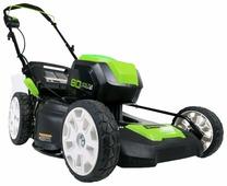 Газонокосилка greenworks GLM801600