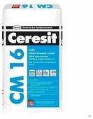 Клей для плитки и камня Ceresit CM 16 Flex 25 кг