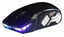 Мышь 3Cott Racing mouse 1200 Black USB