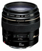 Объектив Canon EF 85 f/1.8 USM.