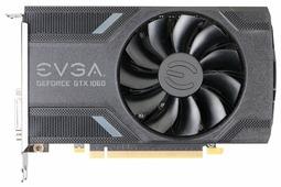 Видеокарта EVGA GeForce GTX 1060 1506Mhz PCI-E 3.0 6144Mb 8008Mhz 192 bit DVI HDMI HDCP