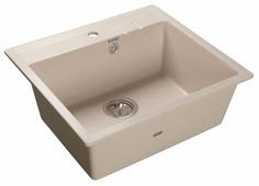 Врезная кухонная мойка GranFest Quadro GF-Q560 55.8х49.8см искусственный мрамор