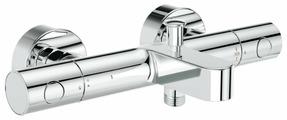 Смеситель для ванны с душем Grohe Grohtherm 1000 Cosmopolitan 34215002 двухрычажный с термостатом хром