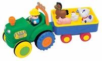 Развивающая игрушка Kiddieland Трактор фермера