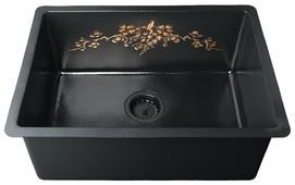 Врезная кухонная мойка OMOIKIRI Arakawa 59-CO 59х45см медь