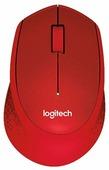 Мышь Logitech M330 SILENT PLUS Red USB